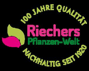 Riechers Pflanzen-Welt: 100 Jahre Qualität | Nachhaltig seit 1920